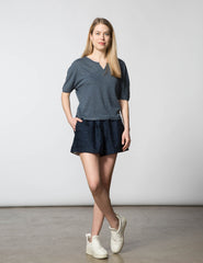 Bethany Short - Navy Key
