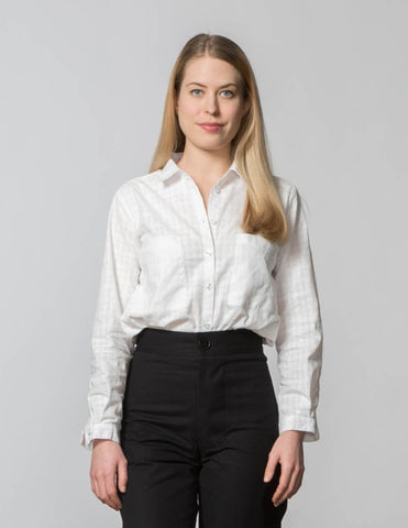 Jane Top - White Woven