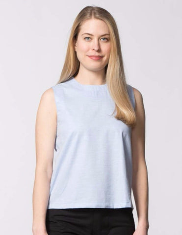 Kaya Top - Light Blue