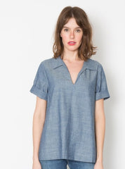 Rochelle Top - Chambray