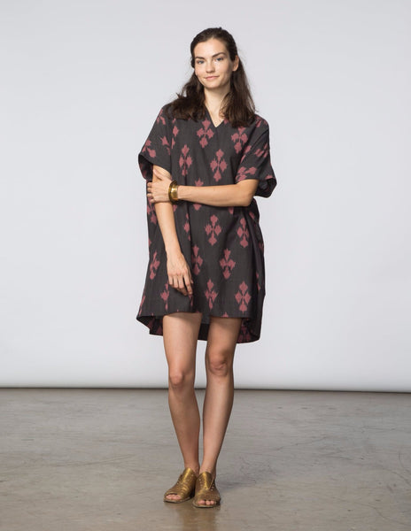 Mary Dress - Ikat