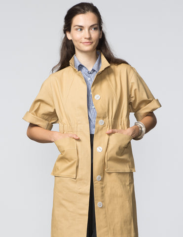 Kimberly Jacket - Camel Canvas