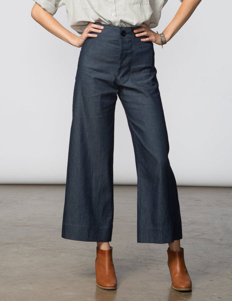 Angela Pant - Dark Denim