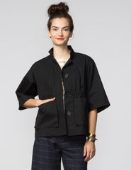 Kim Jacket - Black Canvas