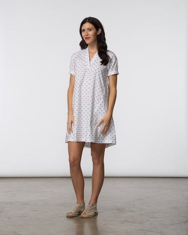 Dana Dress - Swiss Dot