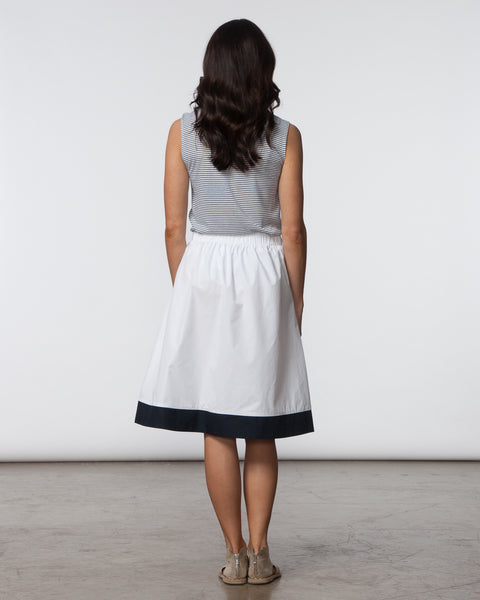 Alex Skirt - White & Black