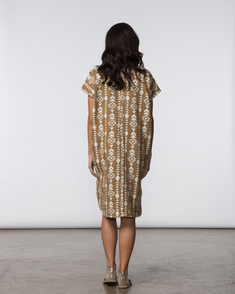 R Dress - Mocha Triangle