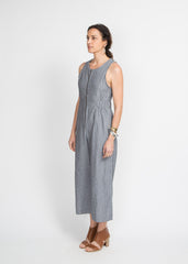 Susan Jumpsuit - Railroad Stripe