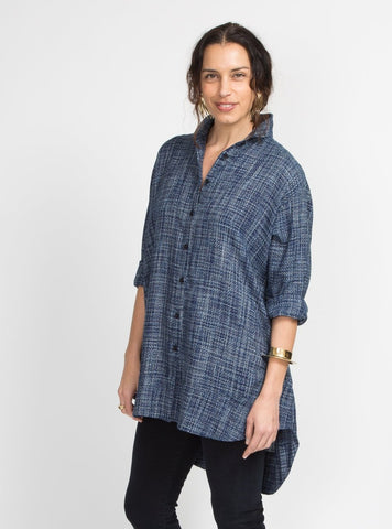 Jonny Top - Chambray Dot