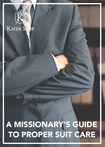 A Missionary's Guide to Proper Suit Care