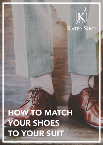 how to match your shoes to your suit the kater shop