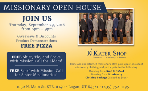 Missionary Open House September 29, 2016