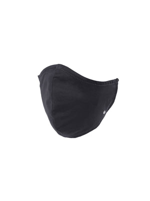 Essential Adult Cone Face Mask 3 Pack-Charcoal