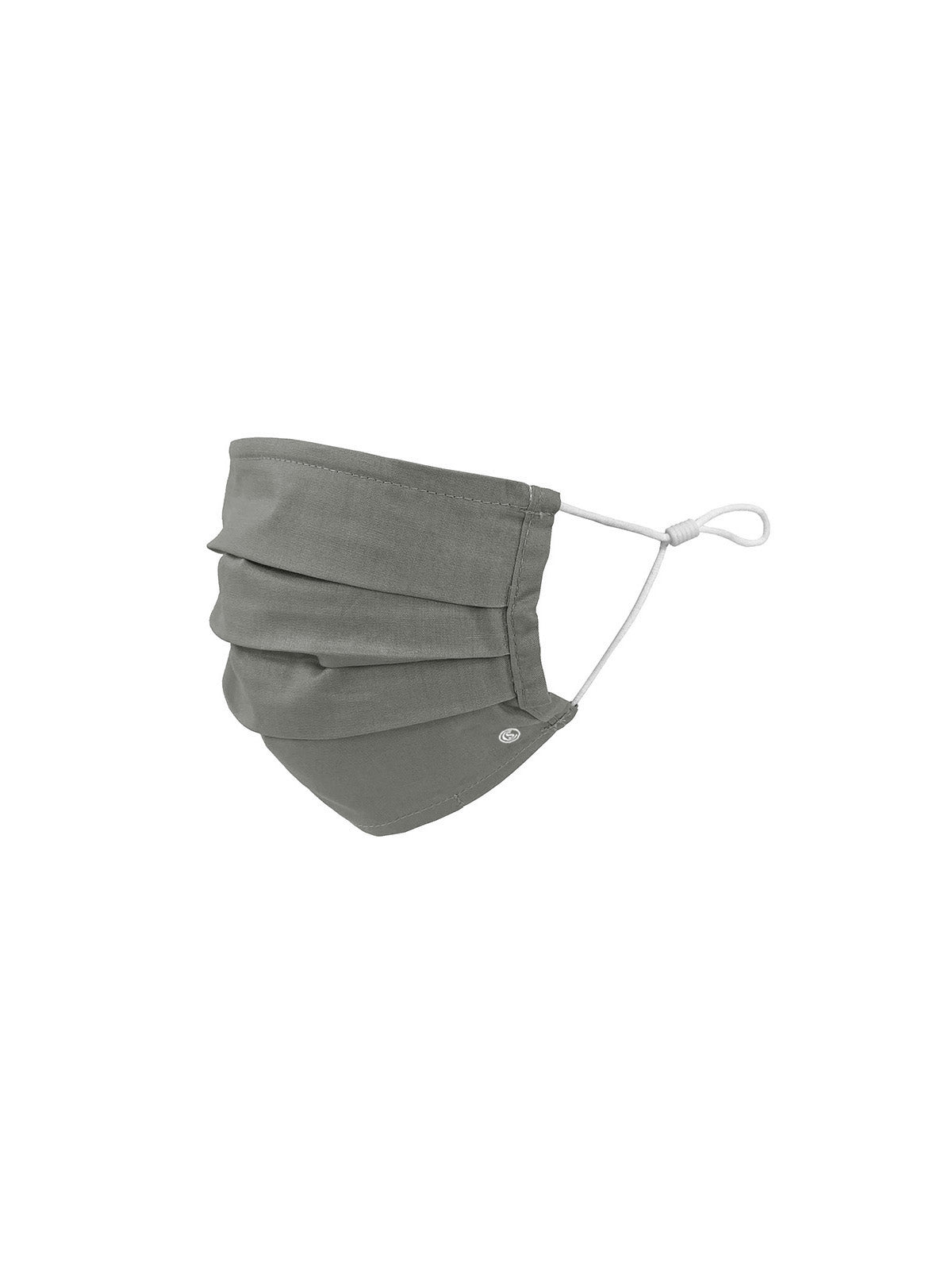 Essential Pleated Adult Face Mask 6 Pack-Grey 1