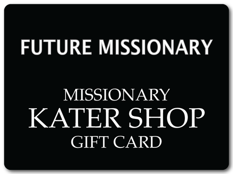 Missionary Gift Card - The Kater Shop