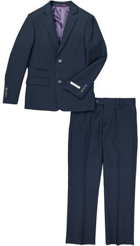Boys Isaac Mizrahi Trim Fit Suit