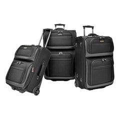 Traveler's Choice Conventional II 3 Piece Luggage Set - The Kater Shop - 1
