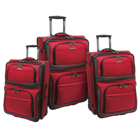 Traveler's Choice Conventional II 3 Piece Luggage Set - The Kater Shop - 3