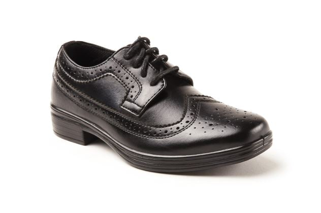 Ace Deer Stag Boy Dress Shoe Black - Kater Shop