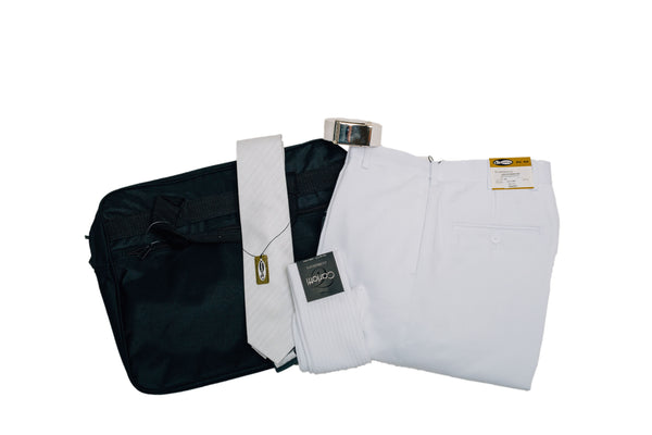 Baptism/Temple White Clothing LDS Missionary Package