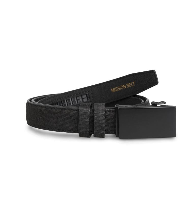 "Boys Obsidian Mission Belt 1"" - Kater Shop"
