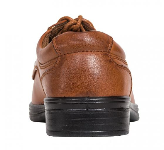 Blazing Deer Stag Boy Dress Shoe Luggage Tan - Kater Shop