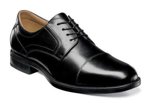 Florsheim Waterproof Black Cap Toe
