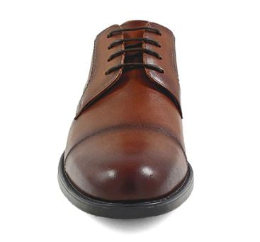 Florsheim Waterproof Cognac Cap Toe - Kater Shop