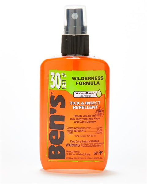 Ben's 30% Deet Bug Repellant