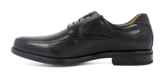 Florsheim Waterproof Black Moc Toe - Kater Shop