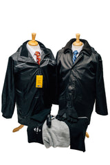 Stay dry with The Kater Shop's missionary outerwear package