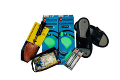 Keep your feet happy with our missionary shoe package
