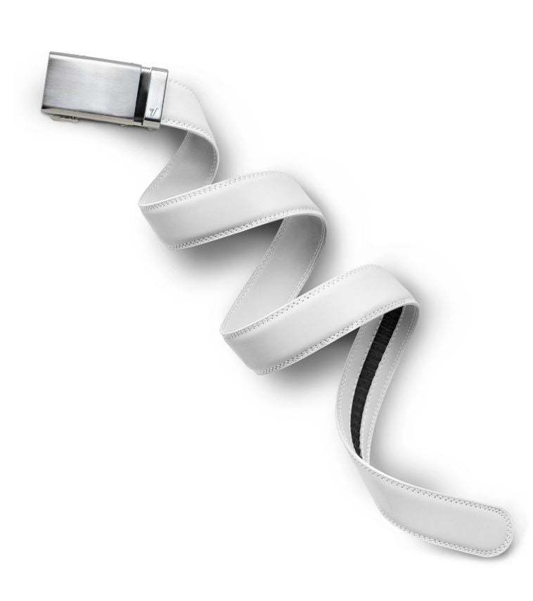 "Alloy White Mission Belt 1.25"" - Kater Shop"