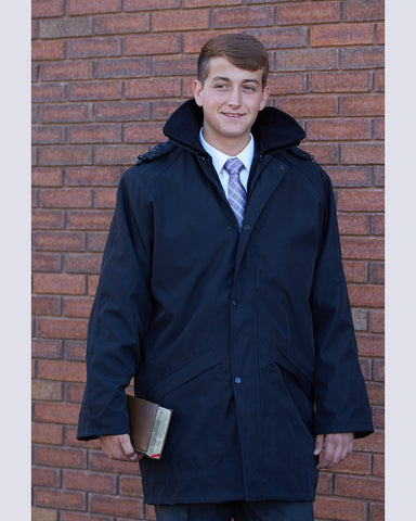 TRIO Missionary Overcoat with Zipout Liner by CTR Clothing - The Kater Shop - 1