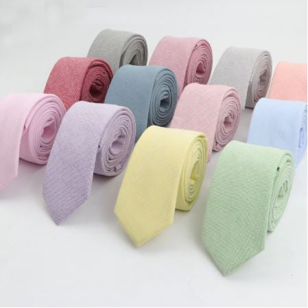 Fashion Cotton Wedding Tie - Kater Shop