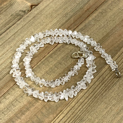 "6-9mm, 94Bds, 24.8g, Natural Terminated Diamond Quartz Beads Strand 16"",DQ628"