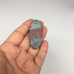 "14g, 2.15""x 1"" Sonora Sunset Chrysocolla Cuprite Cabochon from Mexico,SC193"
