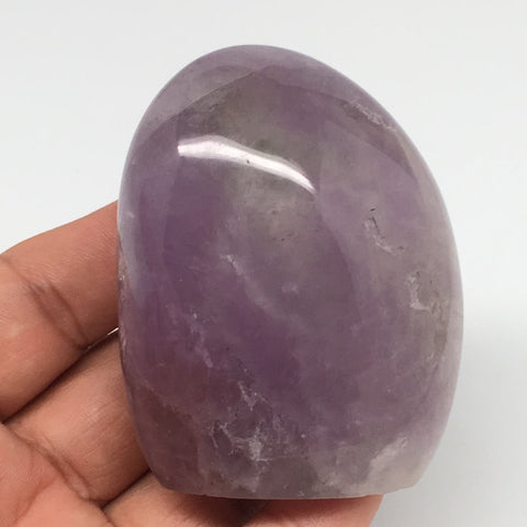 "174.8g, 2.5""x2""x1.4"" Natural Polished Amethyst Crystal @Madagascar, MSP870"