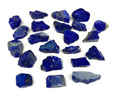 "162.7g,22pcs,0.8""-1.3"", Small Tiny Chips Rough Lapis Lazuli @Afghanistan,B12004"