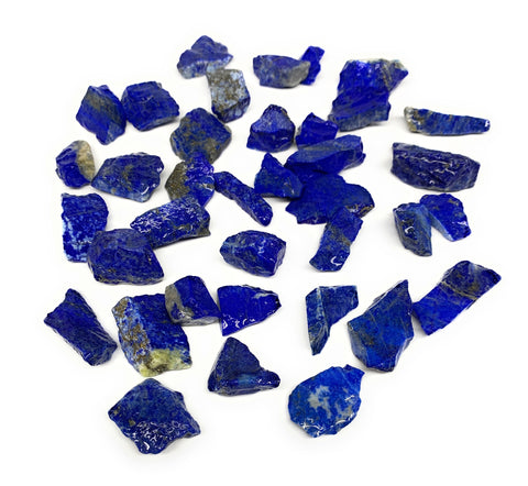 "136.2g,37pcs,0.5""-1.3"", Small Tiny Chips Rough Lapis Lazuli @Afghanistan,B12017"