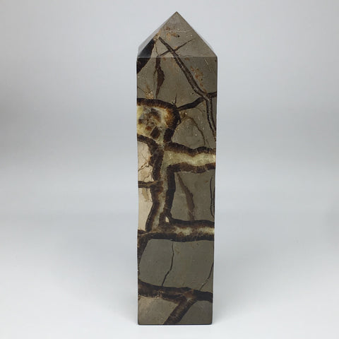 "2,276g,10.25""x2.5""x2.3""Natural Septarian Tower Point Crystal @Madagascar,TP148"