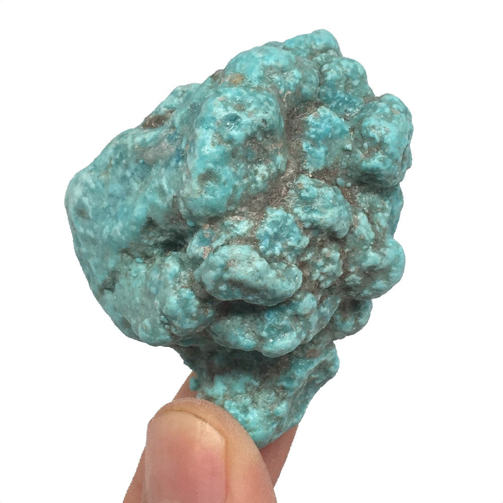 "50.1g,2.1""x1.6""x1"" Stabilized Campitos Sonoran Blue Turquoise @Mexico,MSP63 - watangem.com"