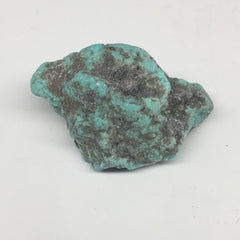 "33.7g,1.9""x1.2""x0.9"" Stabilized Campitos Sonoran Blue Turquoise @Mexico,MSP65 - watangem.com"