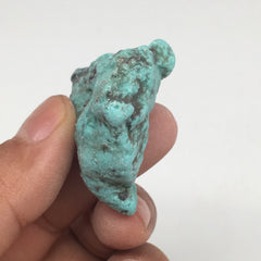 "24.7g,1.5""x1.3""x0.6"" Stabilized Campitos Sonoran Blue Turquoise @Mexico,MSP61 - watangem.com"