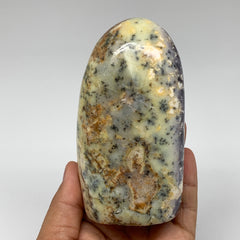 "506g, 4.4""x2.5""x1.9"" Dendrite Opal Freeform Gemstone, Merlinite, Fern Opal,B3202"