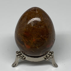 "296.3g, 2.8""x2.2"" Natural Red Jasper Egg Gemstone from Madagascar, B4155"