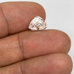 3.66cts, 8mmx8mmx7mm, Kunzite Crystal Facetted Cut Stone @Afghanistan, CTS08