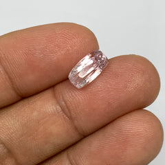 2.66cts, 10mmx5mmx5mm, Kunzite Crystal Facetted Cut Stone @Afghanistan, CTS13