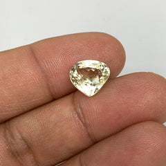 4.52cts, 9mmx10mmx7mm, Kunzite Crystal Facetted Cut Stone @Afghanistan, CTS14