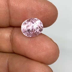 4.43cts, 9mmx8mmx8mm, Kunzite Crystal Facetted Cut Stone @Afghanistan, CTS20